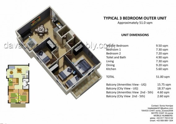 Carmella Northpoint Davao City condo units