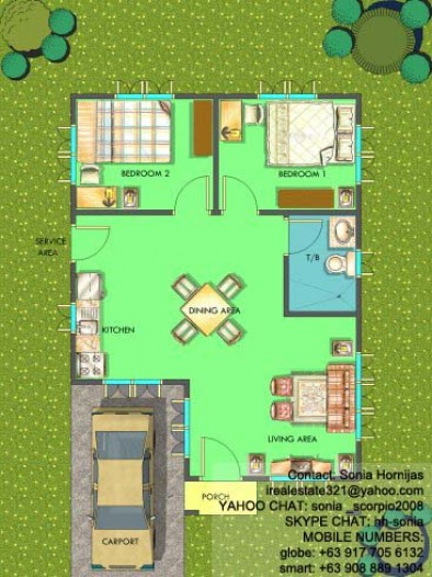 Chula Vista Residences Davao CIty - Chula Vista Residences House Sol Floor Plan