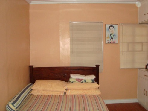 loving the peach colored walls of the master 39 s bedroom the queen