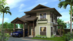 Twin Palms Residences Subdivision in Maa, Davao City has bungalow and 2-storey house and lot packages.
