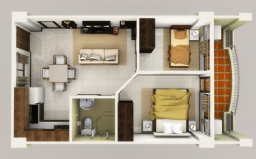 2BR suite - Linmarr Towers Davao City