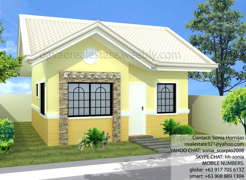 Low cost housing floor plans philippines for Subdivision home designs