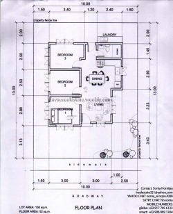 Platinum floorplan 130sqm