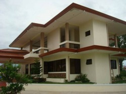 Clubhouse at Priscilla Estates Subdivision in Davao City.
