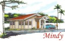 Mindy is the most affordable house and lot package at Santiago Villas. This low cost house in Davao has 2 bedrooms and 1 toilet and bath. This house and lot package can be availed thru Pag-ibig financing.