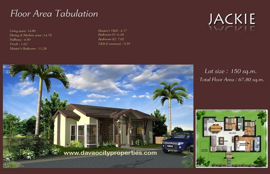 Twin Palms Residences Davao Jackie House and Lot Package. Davao House.