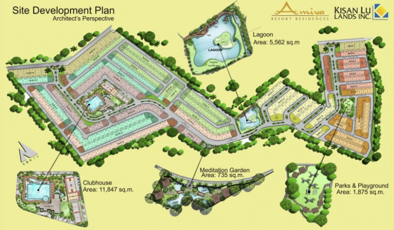 Amiya Resort Residences Site Development Plan