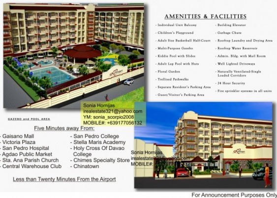 Linmarr Towers COndominium Units Davao City