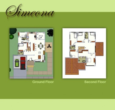 Simeona Floorplan - Villa de Mercedes