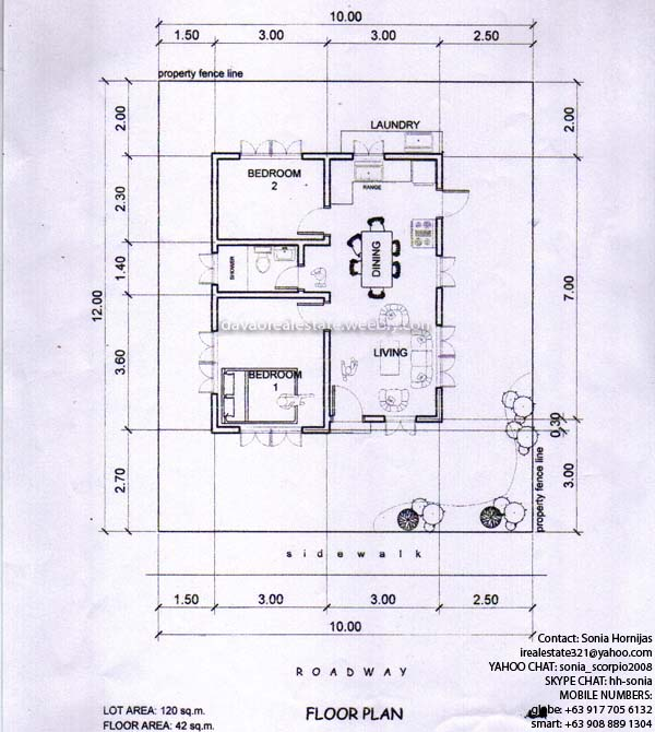 Grace park subdivision davao hornijas tobias realty co Building plans for houses and price