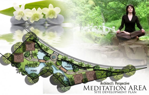 Amiya Resort Residences Meditation Area