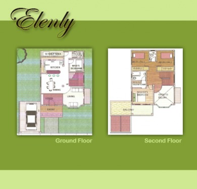 Elenly Floorplan - Villa de Mercedes