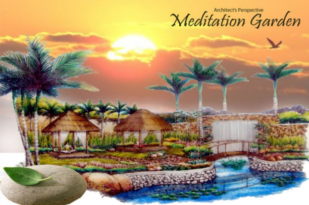 Amiya Resort Residences Meditation Garden